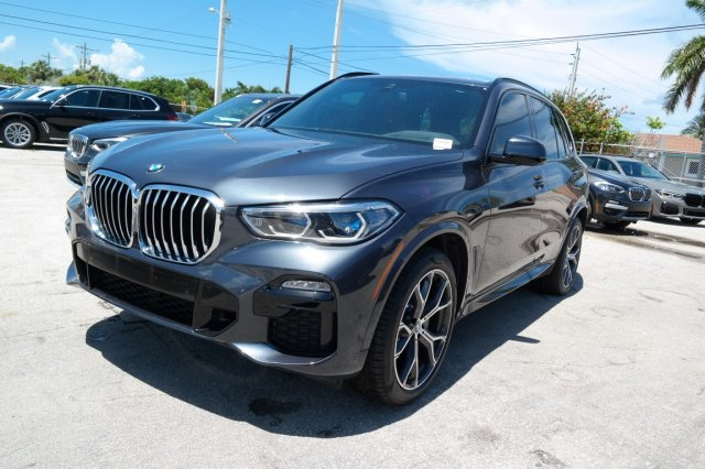 New 2019 BMW X5 xDrive40i