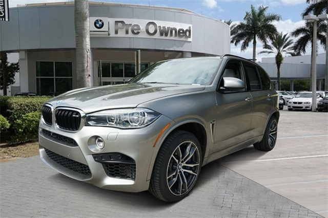 Certified Pre-Owned 2017 BMW X5 M Base
