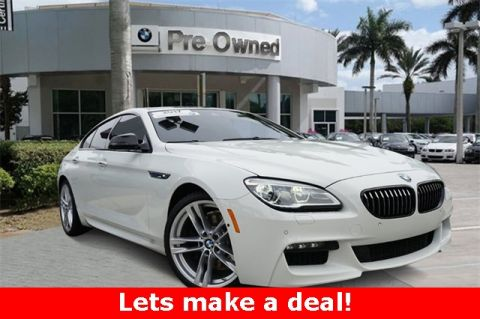 Certified Pre-Owned 2017 BMW 6 Series 640i Gran Coupe